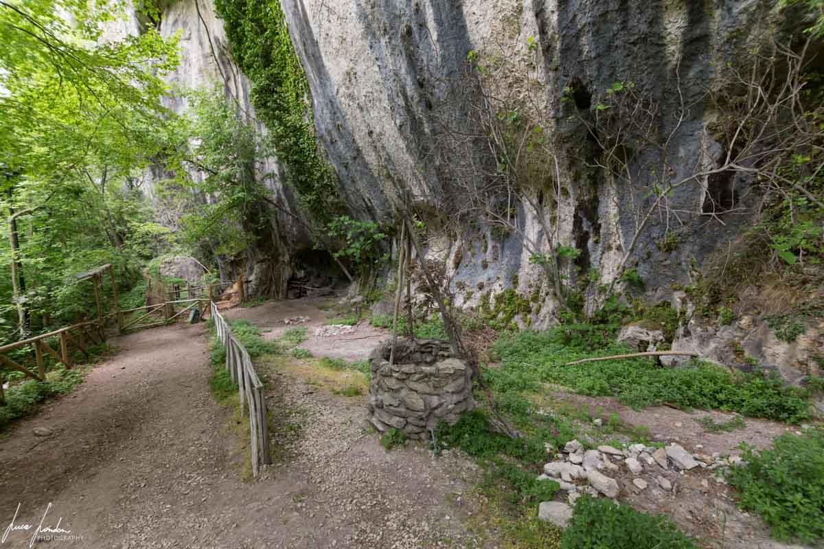 Sentiero per arrivare al Tempio del Valadier