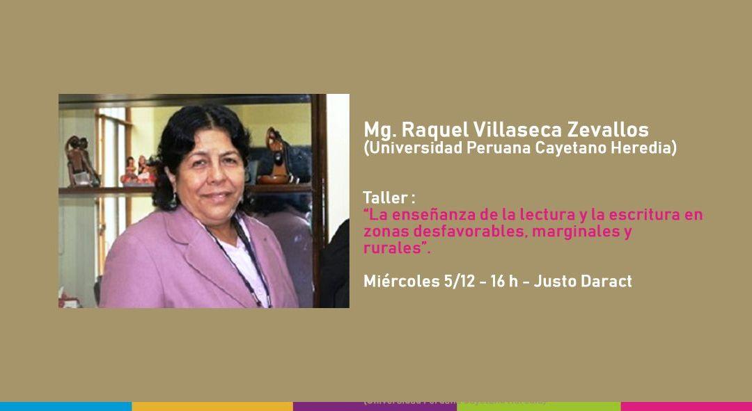 Prestigiosa académica peruana visita la UNViMe y dará una charla