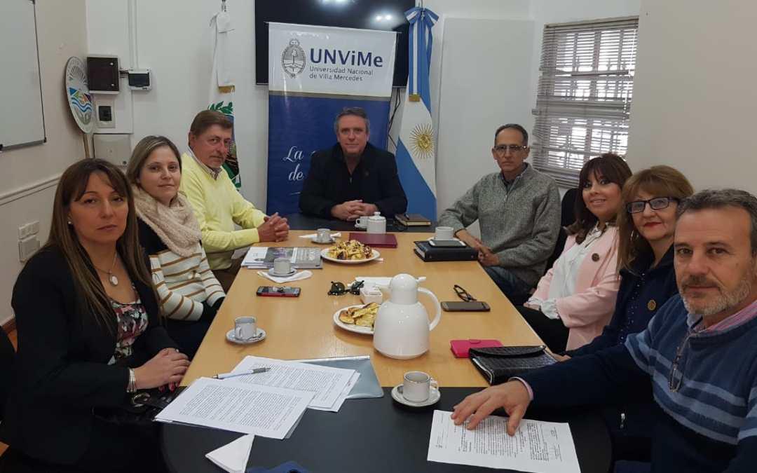La UNViMe firmó nuevo Convenio con la municipalidad de Naschel