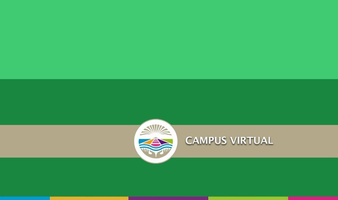 Campus Virtual: Consideraciones y cronograma de Capacitación para docentes