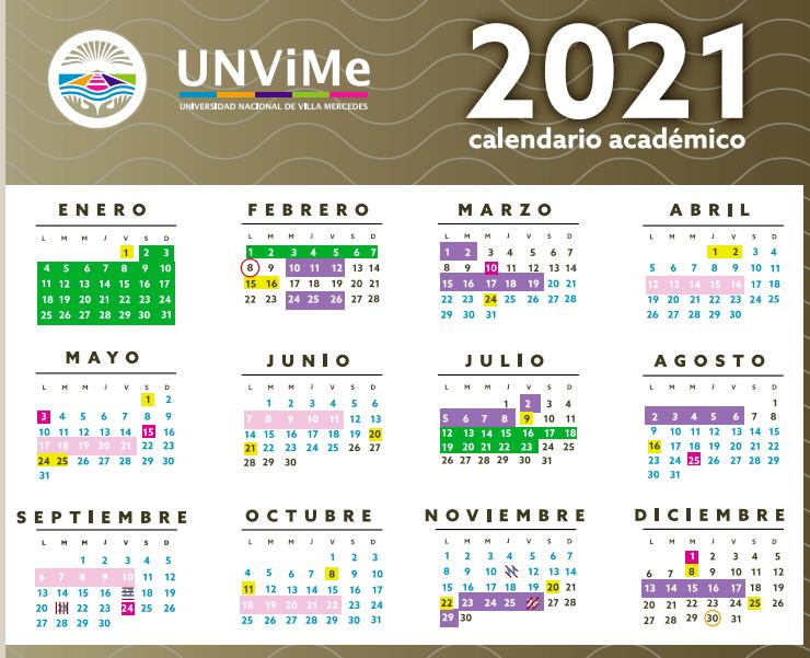 Calendario Académico 2021: la Actividad se reinicia el 8 de febrero