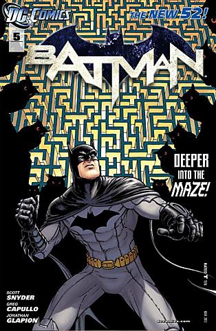 Batman #5, por Chris Burnham & Natham Fairbairn.