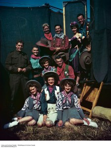 Invasion Review at the Canadian Army Show. DND. Library and Archives Canada, e010786198