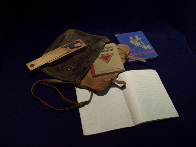 What's in my Bag: Rural Schools, Saskatchewan, 1941-1943