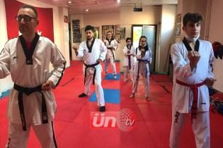 Taekwondo Antrenmanları Pumse İle Başladı