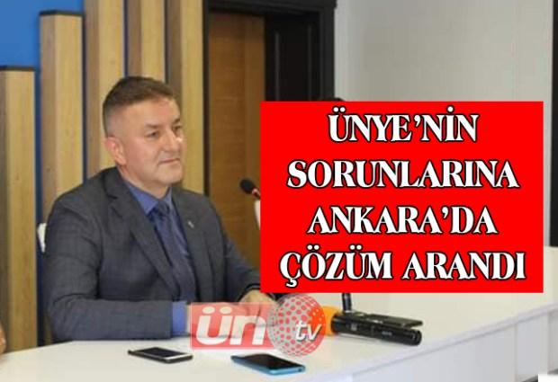 Ünye'nin Sorunlarına Ankara'da Çözüm Arandı!