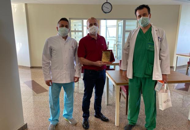Başarılı Cerrah Ünye'ye Veda Etti!