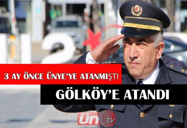 Korkmaz Gölköy'e Atandı!