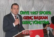 Ünye 1957 Spor'un Yeni Başkanı Durak!