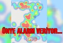Ünye Alarm Veriyor…