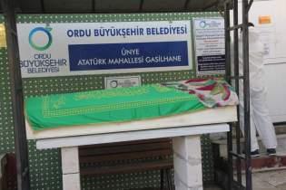 Hakime Ebru Us Aykaş Son Yolculuğuna Uğurlandı