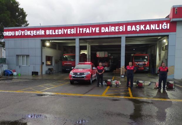 ORDU'DAN ARTVİN'E YARDIM ELİ