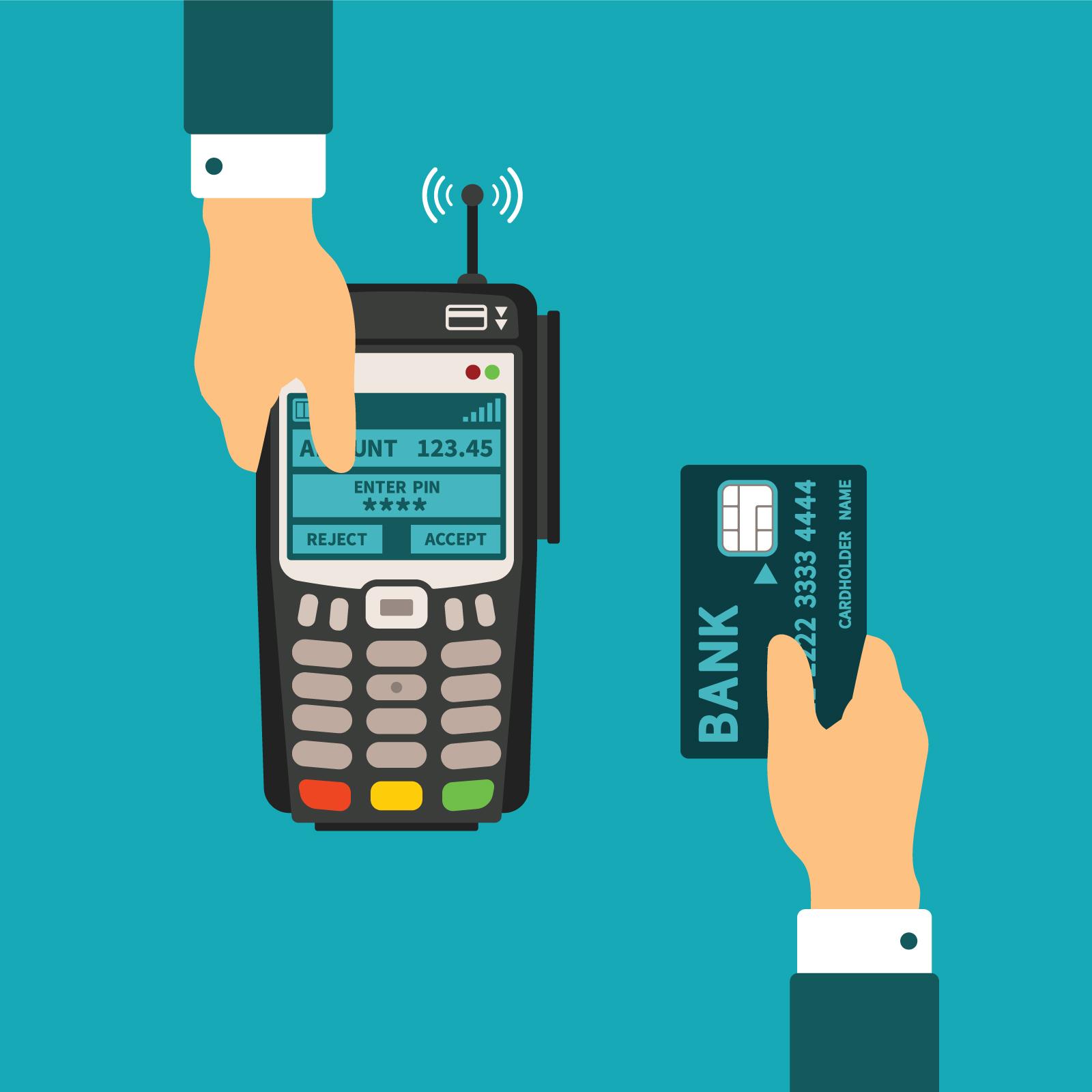 Credit Card Processing Network Diagram