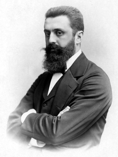 Theodor Herzl. Credit: Wikimedia Commons