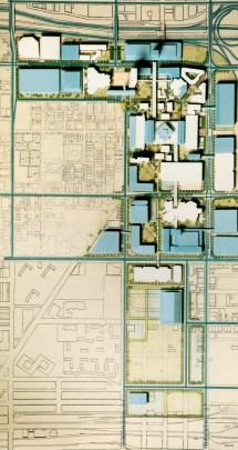University of Illinois at Chicago Map