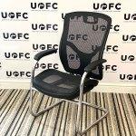 UOFC-Gentoo-Mirage-Black-Mesh-Cantilever-Chair-2