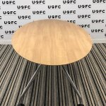 UOFC-Oval-4-6-Person-meeting-table-in-Executive-Oak-2