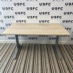 UOFC-Silver-Adjustable-Beam-Desk-LIGHT-OAK