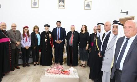 جامعة الحمدانية تبارك عيد القيامة المجيد للطائفة الأرثوذكسية من أبناء شعبنا المسيحي