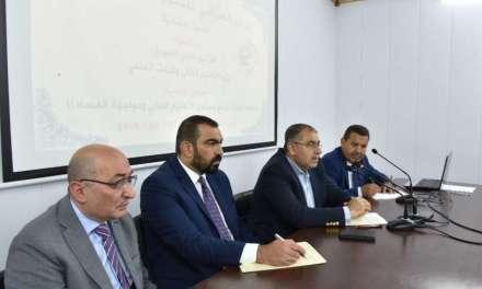 السهيل خلال استضافته في المركز العراقي للتنمية الاعلامية: الوزارة تنهض بمشاريع إستراتيجية