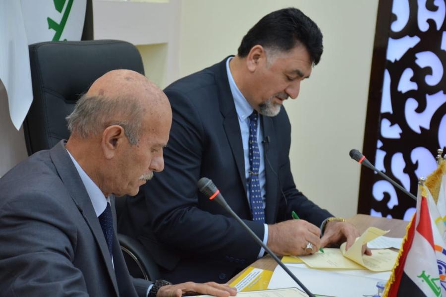 التوأمة الثالثة في سهل نينوى مع كلية النور الجامعة
