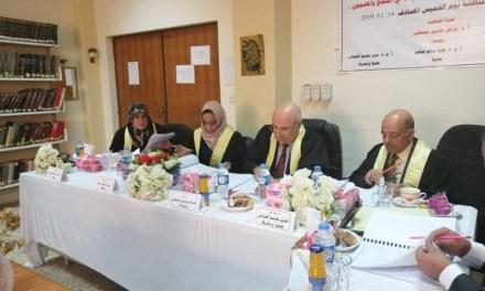 مدير الشؤون الطلابية بجامعتنا يتراس لجنة مناقشة في جامعة الموصل