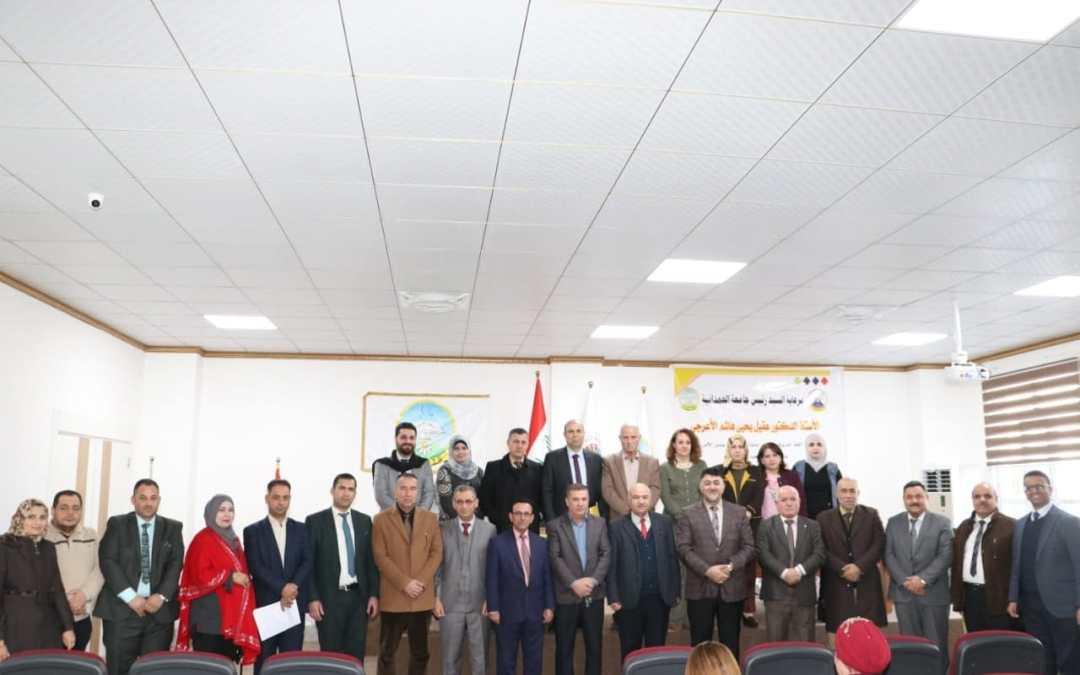 جامعة الحمدانية تحتفل باستحداث دراسة الماجستير في قسمي اللغة العربية والتاريخ.