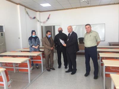 جامعة الحمدانية تعلن عن كامل جهوزيتها للامتحان التنافسي