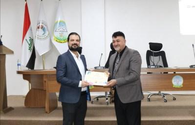 جامعة الحمدانية تكرِّم مبدعيها