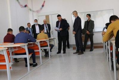 انطلاق الامتحانات التنافسية للقبول في الدراسات العليا بجامعة الحمدانية