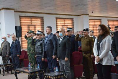 جامعة الحمدانية تحتفل بعيد الجيش والشرطة العراقية