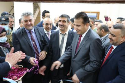 الأعرجي يشارك في افتتاح مبنى رئاسة جامعة نينوى وعددٍ من كلياتها