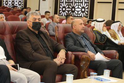 بحضور السيد وكيل وزير الهجرة والمهجرين، الأعرجي يحضر اجتماعاً حول عودة النازحين