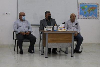 الأعرجي يلتقي بطلبة الدراسات العليا في جامعة الحمدانية