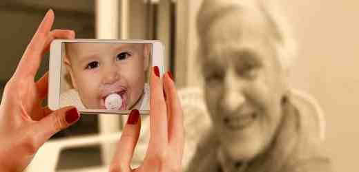 女子從童年到去世的照片!看完後讓你感嘆人生!