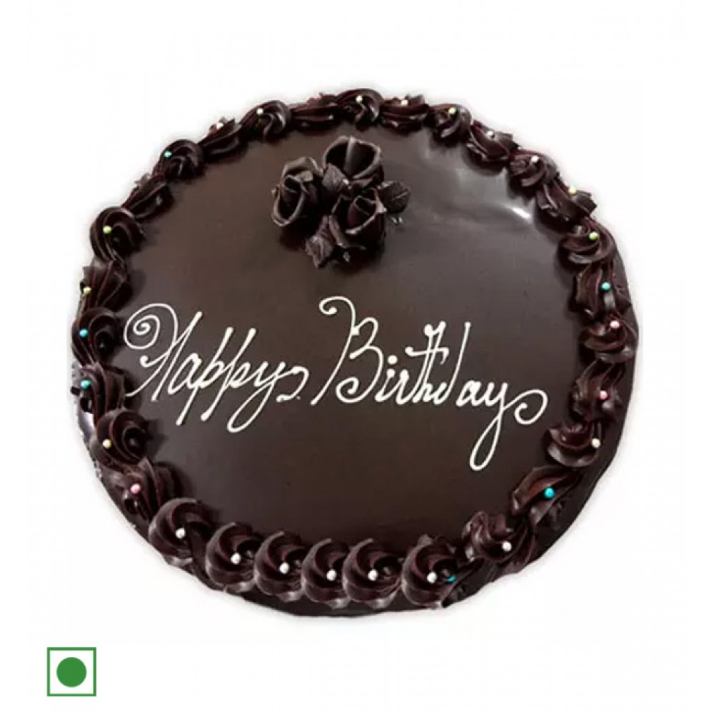 Order Birthday Dark Chocolate Cake Online At Best Price With Free