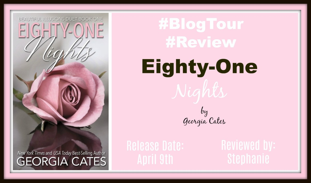 #BlogTour ~~ Eight-One Nights by Georgia Cates