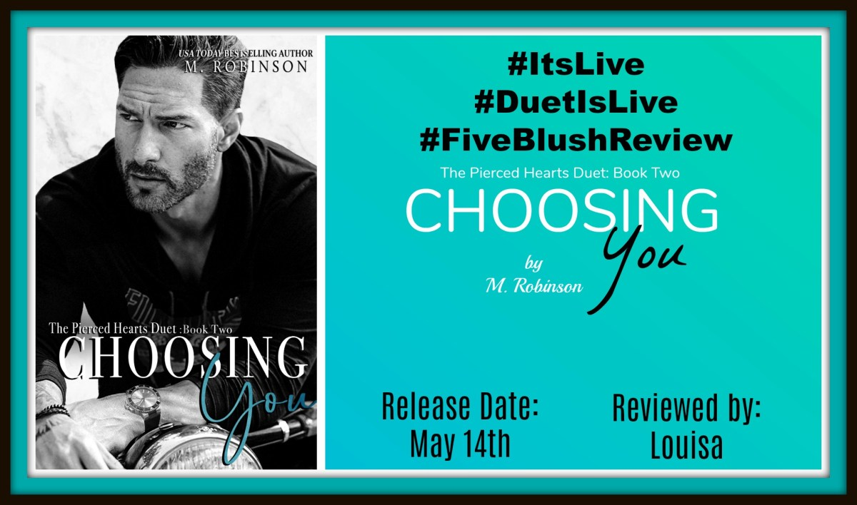 #ItsLive #5BlushReview #angst~~ Choosing You by @authormrobinson @westonboucher
