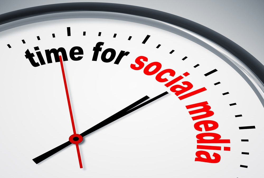 The Optimal Amount of Social Media Postings