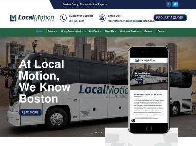 Transportation Company Web Design