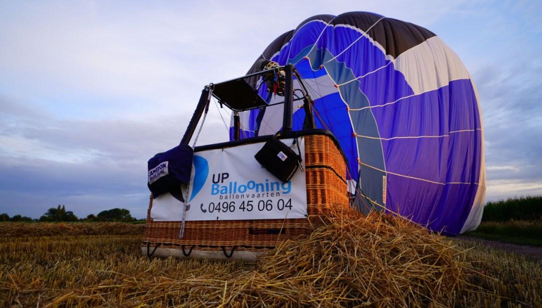Ballonvaren in Vlaanderen met Up Ballooning Ballonvaarten