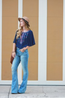 Hippie Boho Outfits with Jeans