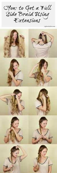 Dutch Side Braid Tutorial