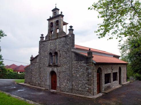 iglesia-castiello-bernueces-gijon-fachada