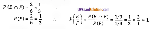Probability Class 12 UP Board Solutions Maths Chapter 13