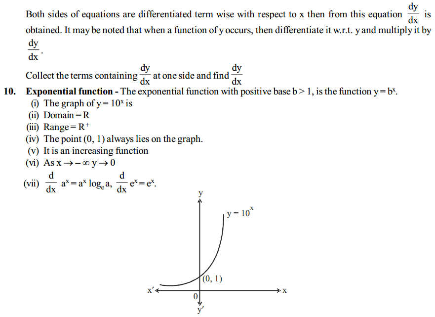 Continuity and Differentiability Formulas for Class 12 Q3