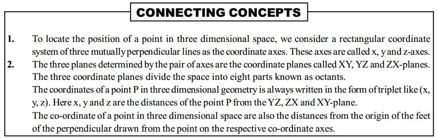 Three Dimensional Geometry Formulas for Class 12 Q2