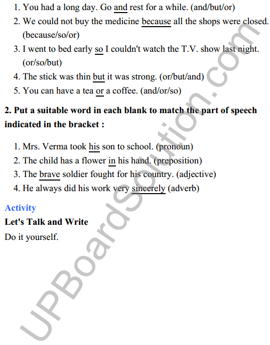 UP Board Class 8 English Solutions Rainbow Chapter 2 The kabuliwallah 6