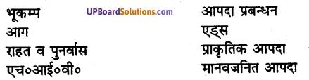 UP Board Solutions for Class 8 Environment Chapter 13 आपदाएँ एवं उनका प्रबंधन 1