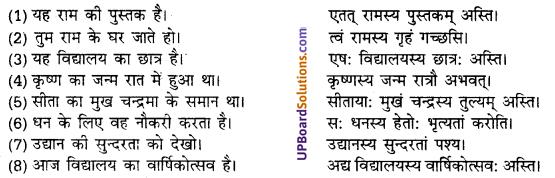 UP Board Solutions for Class 10 Hindi हिन्दी-संस्कृत अनुवाद img-23